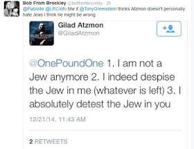I despise Jews