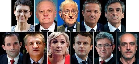 FrenchElecCandadatest2017