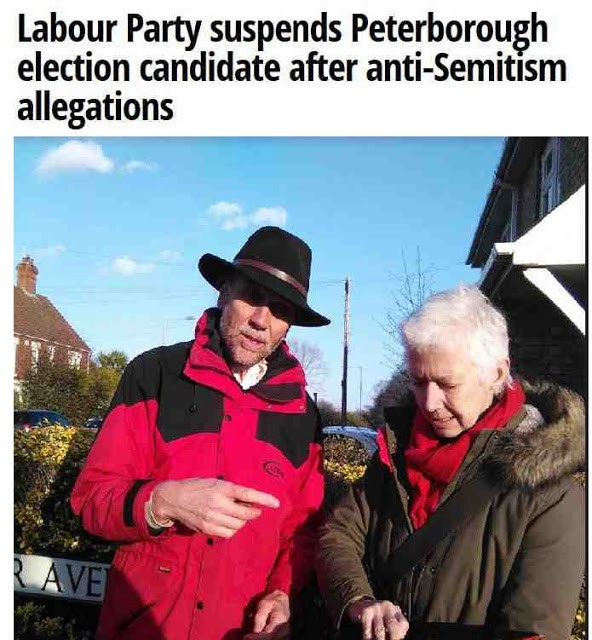 Image result for lan Bull antisemitism in Peterborough images