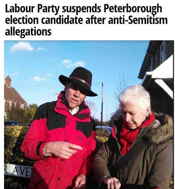Image result for lan Bull antisemitism in Peterborough images